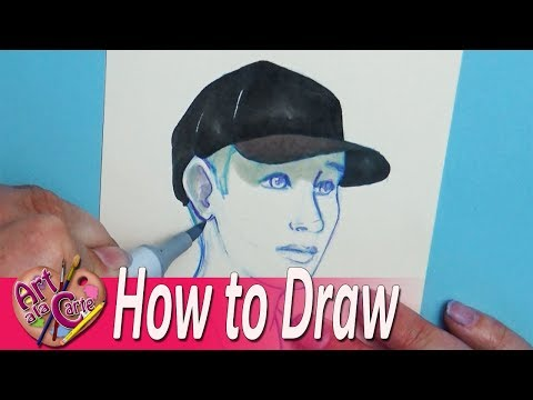 Drawing a Person Wearing Baseball Hats Plus Artist Challenge Entries