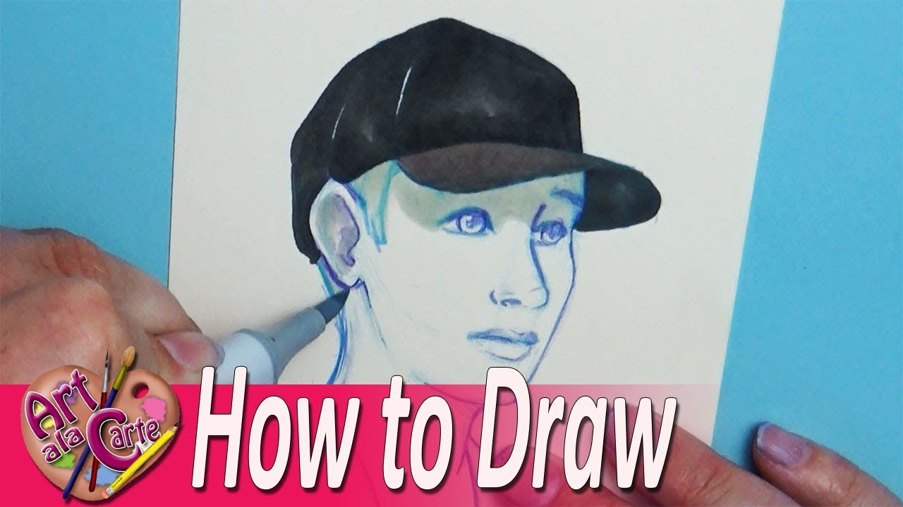Drawing a Person Wearing Baseball Hats Plus Artist Challenge Entries ... 0d5b7e3eb45