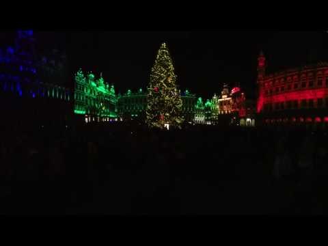 Sound and Light Show 2016 @ Brussels Grand Place