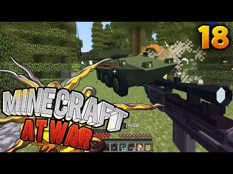 Minecraft At War Ep. 18 - THEY STOLE OUR DRAGON EGG!! (Season 2) (Custom Modpack)