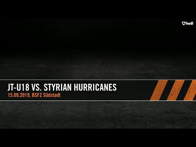 U18 Junior Tigers vs Styrian Hurricanes
