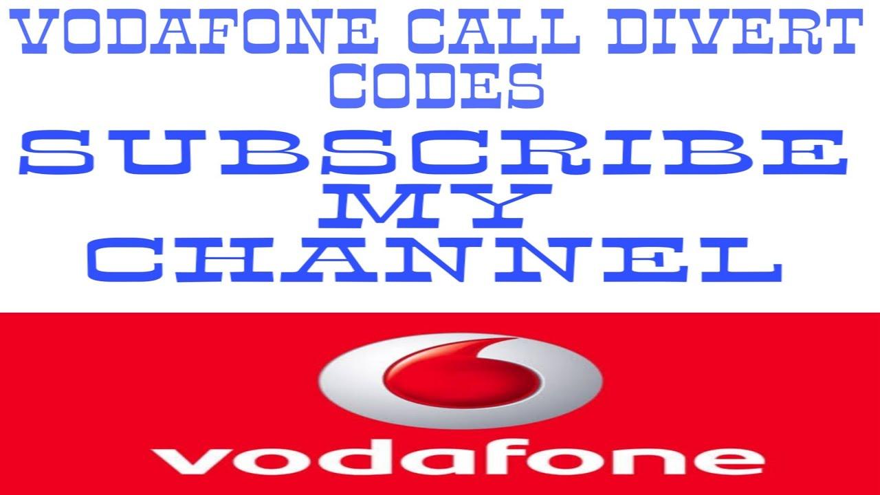 Vodafone Call Divert Code
