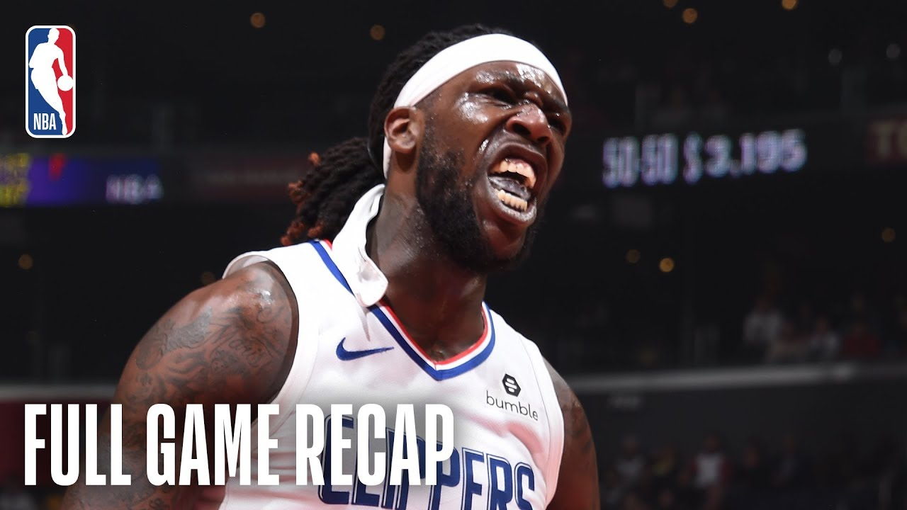 PACERS vs CLIPPERS | Montrezl Harrell Gives Clips A Spark Off The Bench | March 19, 2019