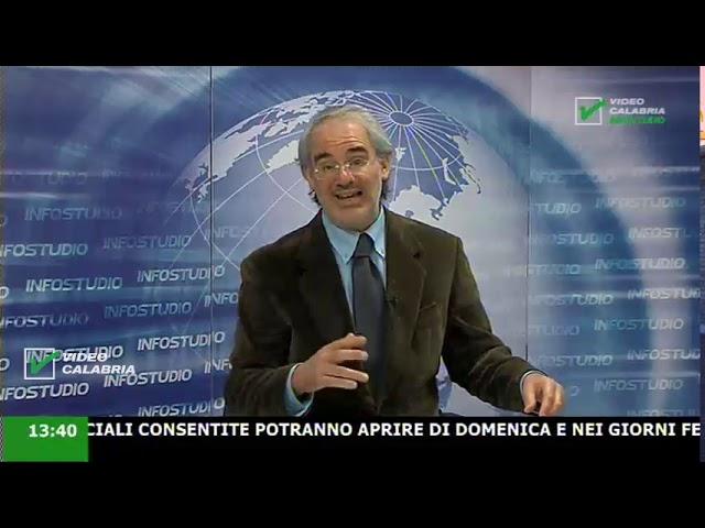 InfoStudio il telegiornale della Calabria notizie e approfondimenti - 25 Aprile 2020 ore 13.30