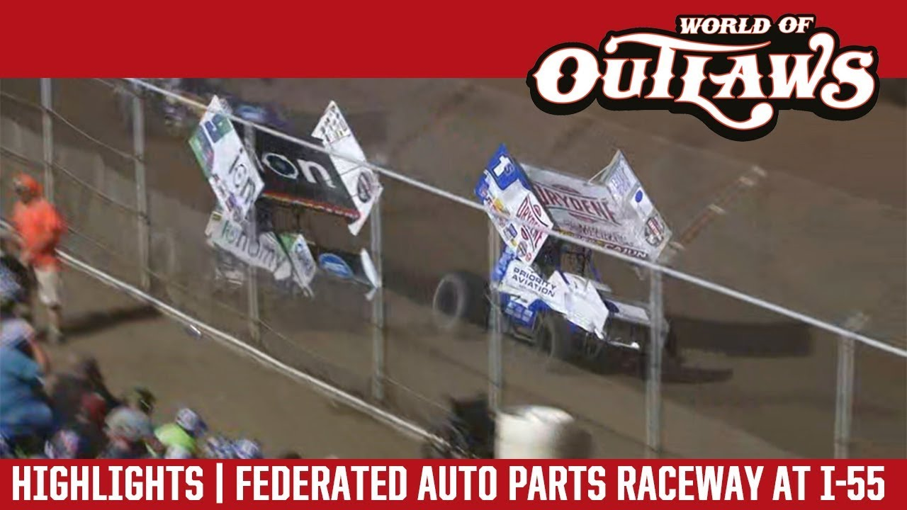 world-of-outlaws-craftsman-sprint-cars-federated-auto-parts-raceway-august-4-2018-highlights