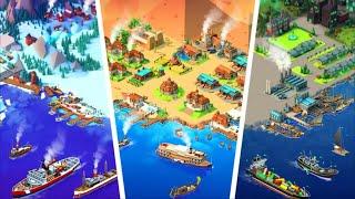 Sea Port Ship Games & Transport Tycoon Strategy Part 1 screenshot 2
