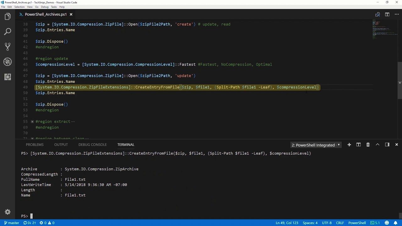 How To Create And Extract A Zip Archive In PowerShell