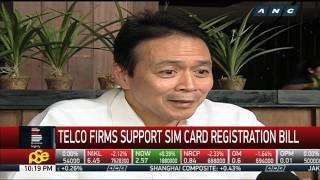 Telco firms support SIM card registration bill