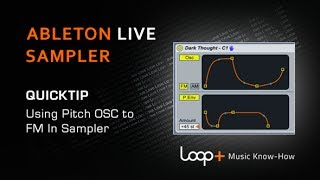 Using Pitch OSC To Apply FM in Ableton Sampler - Loop+ Quick Tip