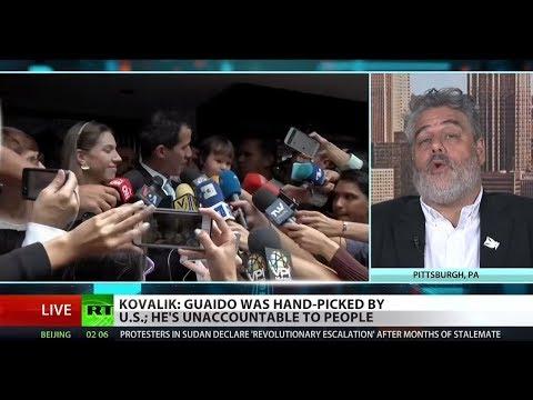 RT America: Venezuelan opposition embezzled humanitarian aid