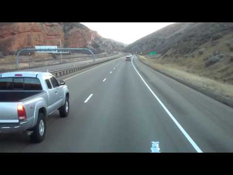 HEAVY HAUL TV: Trucking on I-80 through the Rockies in Utah