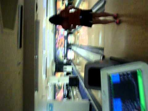 Monica's bowling