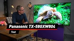 Panasonic TX-58GXW804: Smart-TV mit vielen Extras.