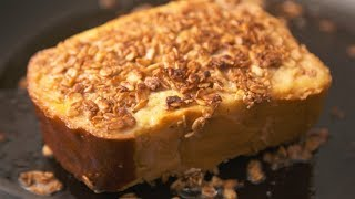 Crunchy Cheesecake French Toast