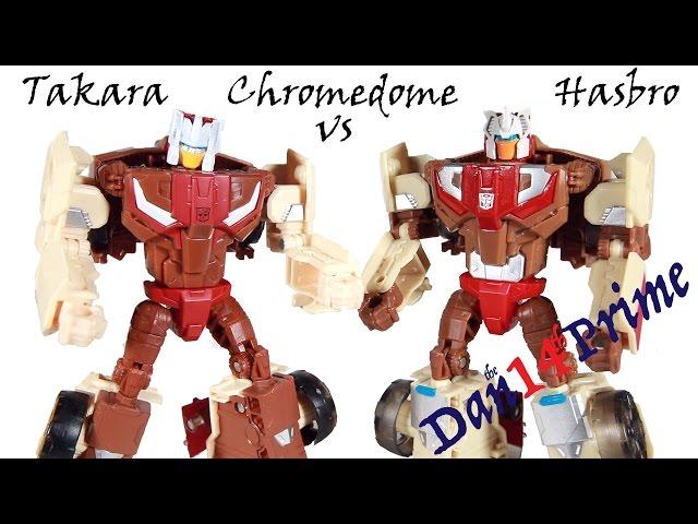 Chromedome Headmaster Stylor Takara Legends 32 Vs Hasbro Titans Return Transformers Youtube