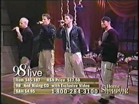 98 Degrees HSN Christmas Special *This Gift* - YouTube