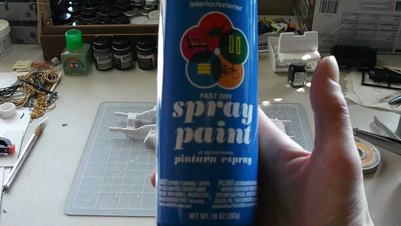 drying spray paint faster