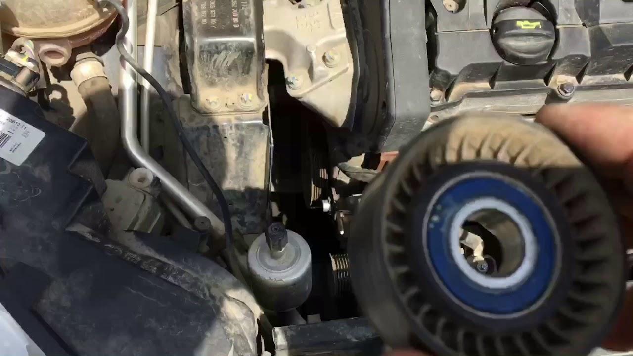 замена ремня навесного оборудования citroen xsara