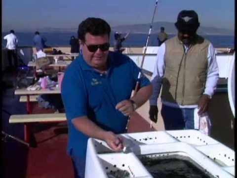 Dan hernandez on annie b barge sport fishing youtube for Sport fishing with dan hernandez