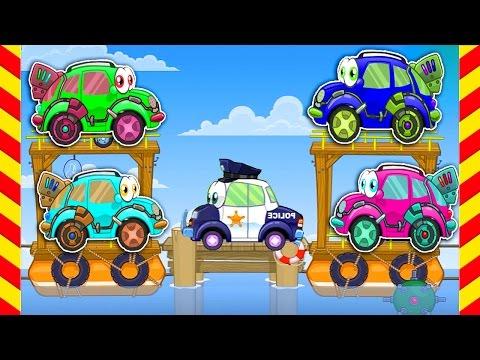 Машинка Вилли все серии подряд 100 МИНУТ. Мультфильм про полицию и машину Вилли для мальчиков