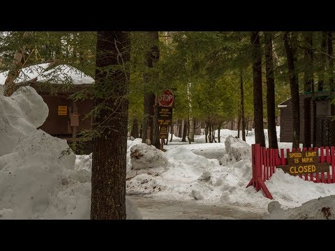 Fish Creek Pond Campground Drive Through March 30, 2018