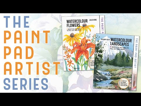 The brand new PAINT PAD ARTIST series | Search Press