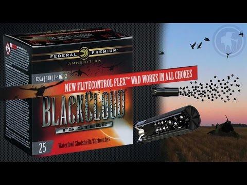 Federal Premium Black Cloud with FLITECONTROL FLEX Wad