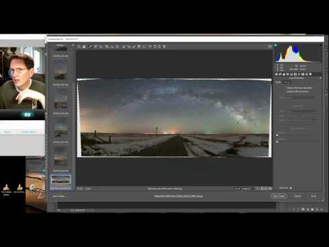 Processing full Milky Way Panorama
