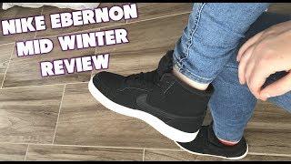 Escrutinio Confidencial Revisión  NIKE EBERNON MID WINTER Review + Ersteindruck mit Jacky #03 - YouTube