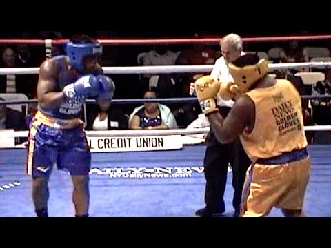 NATHAN CONJA / TERRENCE TURNER : DAILY NEWS GOLDEN GLOVES 2016 : 201 + lb novice