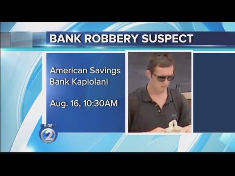 Police Seek Suspect In American Savings Bank Robbery On Kapiolani Blvd.