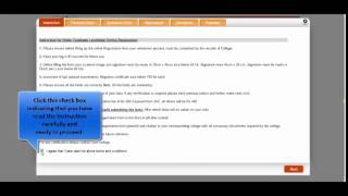 vinoba bhave university online degree i registration application submission process youtube