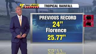 Tropical Storm Florence: The latest update with Chris Hohmann