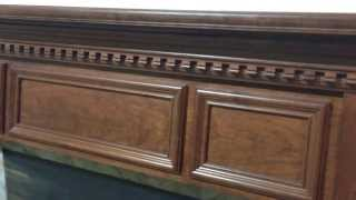 The Madison Mantel - Custom Built Fireplace Mantel
