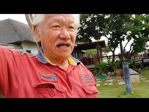 พักผ่อนหย่อนใจครายร้อนกันที่ fishing man หาดเจ้าสำราญเพชรบุรีประเทศไทย ลมมันเย็นวิวก็สวยสนุกมากครับ