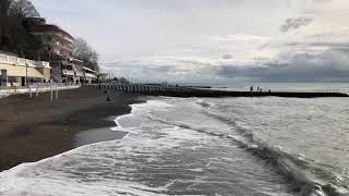 17.01.2019 Погода в Сочи в январе. Смотри на Чёрное море каждый день.