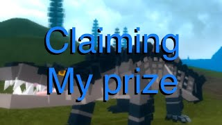 Dinosaur Simulator ROBLOX : Claiming Blackodile!!!