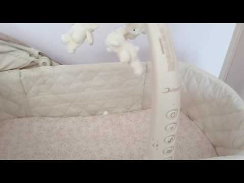 Кроватка-Люлька-качалка Jetem Sweet Dream, 3 в 1