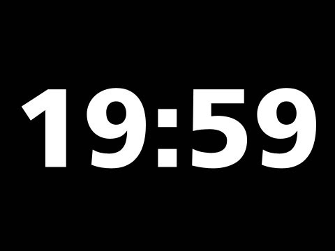 20 Minute Countdown Timer + Download it. Simple format.