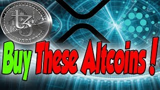 I Am Buying These Altcoins