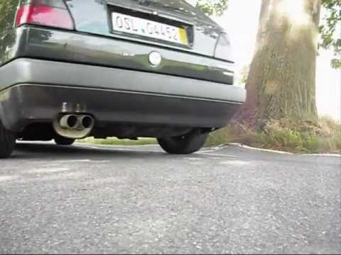 vw golf 2 g60 syncro exhaust production pics and sound youtube. Black Bedroom Furniture Sets. Home Design Ideas