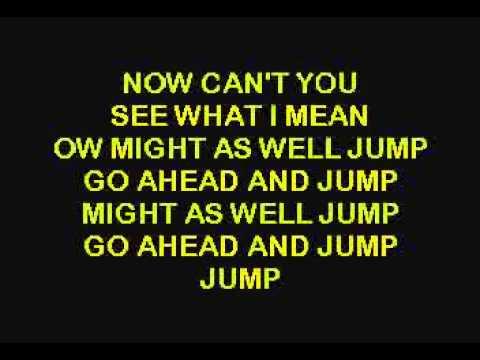Van Halen Jump Karaoke Version