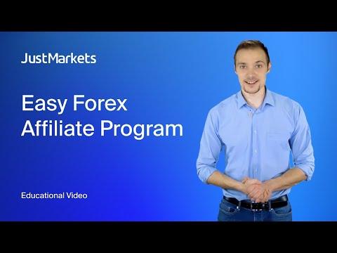 Easy Forex Affiliate Program with JustForex