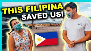 STRANDED FOREIGNERS cross PHILIPPINES BY CAR to get HOME after Lockdown (DAY 1)