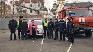 У Коломийський ліцей завітали поліцейські та рятувальники