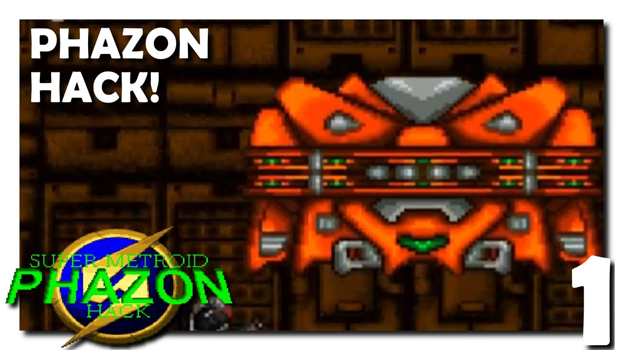 1 • Super Metroid Phazon Hack • A ROM Hack with Ridiculous Resprites