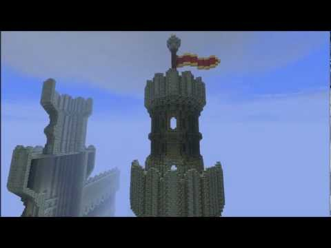 how to build a minecraft castle tower