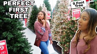 Christmas Tree Shopping| Buying Our First Tree! vlogmas day 2