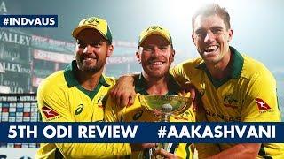 #INDvAUS: #INDIA LOSE ODI series: #AakashVani