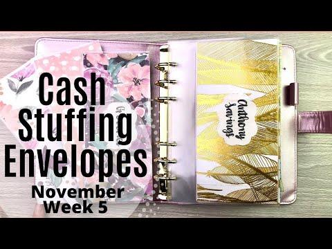 cash-envelope-&-sinking-fund-stuffing!!-||-part-2!!!-||-week-5---november-2019